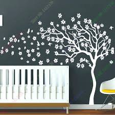White Tree Wall Decal Nursery White Tree Wall Decals Plus New Arrival White Tree Flowers