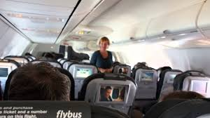 Airplane Interior Icelandair Airplane Interior Autumn 2014 Youtube