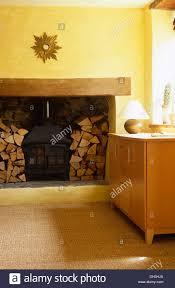 teppich sisal beiderseits der holzofen inglenook kamin im wohnzimmer mit sisal