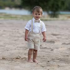tenue enfant mariage anneau porteur tenue bébé garçon baptême vêtements tailleur en