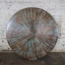 engineer crank copper dining table u2013 artesanos design collection