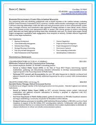 Verizon Resume Marvelous Things To Write Best Business Development Manager Resume