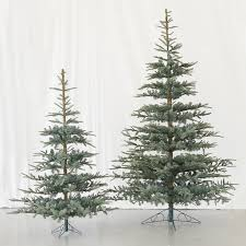 artificial noble fir tree lights decoration