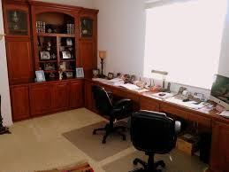 Dual Workstation Home Office Furniture - Home office furniture orange county ca