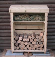outdoor firewood storage diy fire pit landscaping ideas design