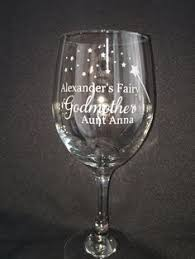 godmother wine glass personalized godfather glass stein godmother wine glass
