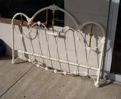 White Iron Headboard White Metal Headboard Bedroom Set Up Your Using Collection Also