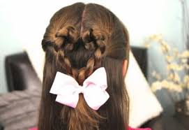 tutorial mengikat rambut kepang tutorial rambut wanita model kepang hati unik