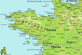 Le Havre France Map by Bretagne