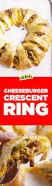 best cheeseburger ring recipe how to make cheeseburger ring u2014delish com
