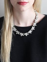 crystal collar statement necklace images Lucy crystal necklace bridal jewelry wedding jewelry special jpg
