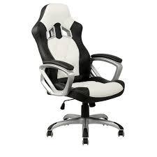 bureau blanc et superbe fauteuil de bureau blanc chaise blanche et racing