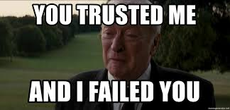 Meme Generator Crying - you trusted me and i failed you crying alfred meme generator