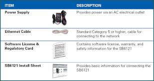 arris modem lights sb6121 general faqs sb6121 installation setup