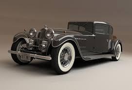 modified bugatti t 41 1928 3d model