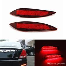 rear bumper hyundai elantra 2017 auto led car light source styling rear bumper reflectors l
