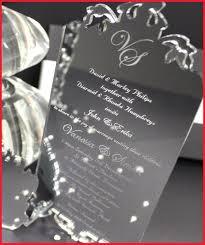 acrylic wedding invitations plexiglass wedding invitations 203473 silver mirror acrylic