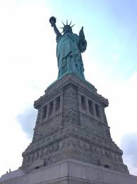 Pedestal Tickets Statue Of Liberty View Of Manhattan Skyline From Below The Pedestal Observation Deck