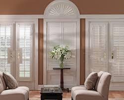 Blinds For Front Door Windows Graber Blinds Shades Custom Shutters Wood Shutters Plantation