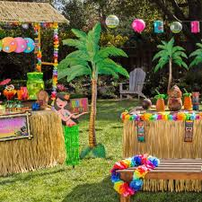 Hawaian Decorations Party Delights Say Hello To Summer Milled
