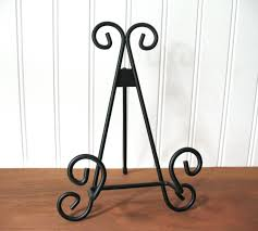 metal frame for table top 9 black metal easel wire tabletop wedding display picture frames
