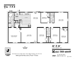 custom home floor plans tnr 4686w mobile home floor plan ocala custom homes