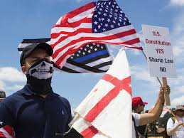 Mobilize Anti Flag In San Bernardino Protesters And Ideologies Clash At Anti Sharia
