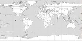 Map Of The World Blank by Blank Map Of The World By Ntp12 On Deviantart