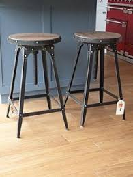 cafe bar stools 1930 s vintage industrial westinghouse factory bar stool chairs pair