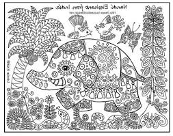 animal coloring page for older children free coloring pages