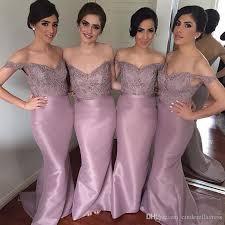 purple lace bridesmaid dress dusty purple lilac mermaid bridesmaid dresses shoulder