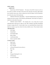 Internal Job Resume by Project On Recruitment Training And Development Of Icici Prudential L U2026