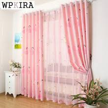 Childrens Curtains Girls Popular Curtains Buy Cheap Curtains Lots From China