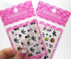 halloween 3d nail art sticker designs nail decals uk wrap