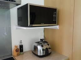 kitchen microwave ideas shocking kitchen shelf for microwave