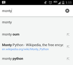 monty u0027s name now comes up before monty python in google and he