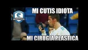 Memes De Cristiano Ronaldo - viral los memes de cristiano ronaldo por mirar su herida en el