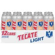 tecate light alcohol content tecate light mexican beer 24 oz cans calories nutrition analysis