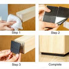 Furniture Rubber Floor Protectors by Non Slip Self Adhesive Floor Protectors Furniture Sofa Table