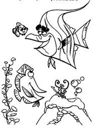 finding nemo coloring pages nemo