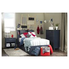 ulysses twin bookcase headboard with sliding doors 39