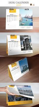 Calendar 2018 Ai Template Desk Calendar 2018 Calendar 2018 Desk Calendars And Ai Illustrator