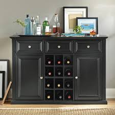 sideboard cabinet with wine storage pottstown server buffet server wine storage and buffet
