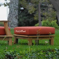outdoor ottoman cushion replacement sunbrella ottoman cushion