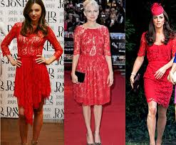 style delights how to style a red lace dress holiday party