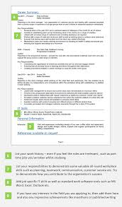 Examples Of Teamwork Skills For A Resume by Leaver Cv Example With Writing Guide And Cv Template