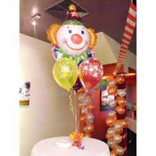 clown balloon anagram 33 inch juggles clown supershape balloon from category