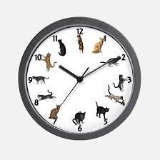 wall clocks cat clocks cat wall clocks large modern kitchen clocks