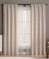 vcny home ivory villa curtain panel set of four zulily