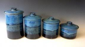 blue kitchen canisters blue kitchen canisters kitchen design